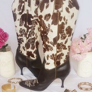 Dolce & Gabbana ❤Make Offer❤ Cowboy Boots